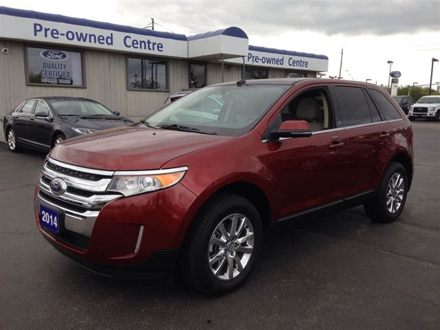 2014 ford edge limited burlington ontario used car for sale 2155273. Black Bedroom Furniture Sets. Home Design Ideas