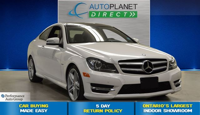 2012 mercedes benz c class c350 4matic coupe navi pano for 2012 mercedes benz c350 price