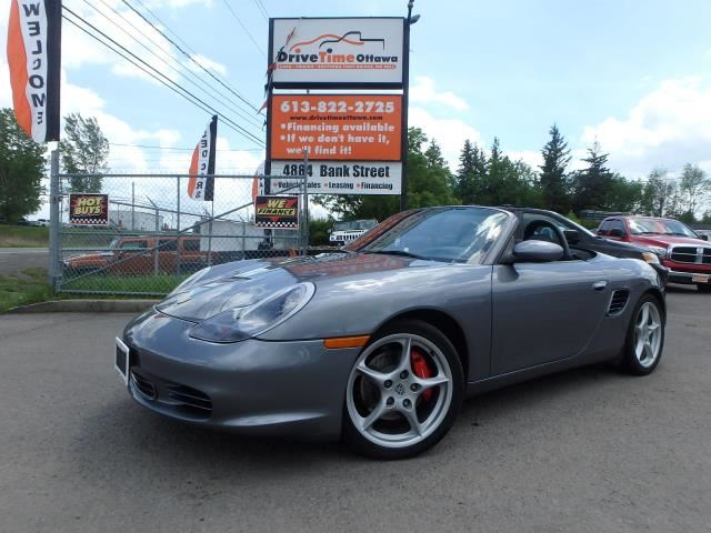 2003 porsche boxster s ottawa ontario used car for sale. Black Bedroom Furniture Sets. Home Design Ideas