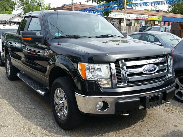 2009 ford f 150 xlt black peters auto sales brampton. Black Bedroom Furniture Sets. Home Design Ideas