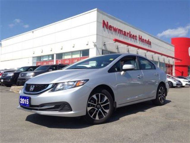 2015 honda civic ex newmarket ontario used car for sale 2162525. Black Bedroom Furniture Sets. Home Design Ideas