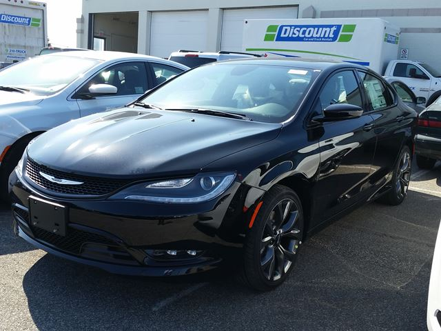 2015 chrysler 200 s awd black vaughan chrysler dodge. Black Bedroom Furniture Sets. Home Design Ideas