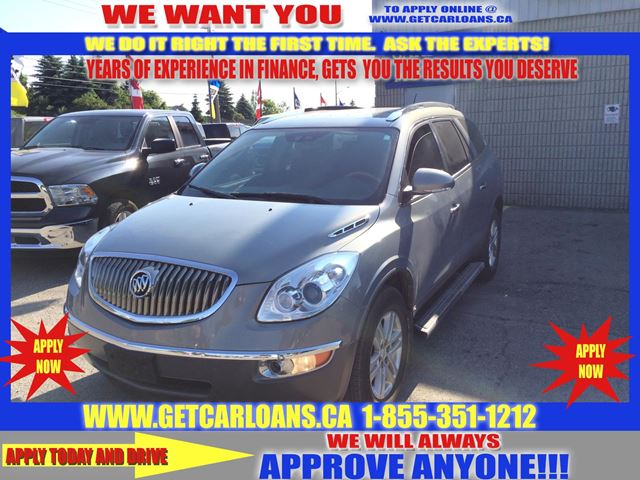 2008 Buick Enclave Leather Auto Start Power Lift Gate