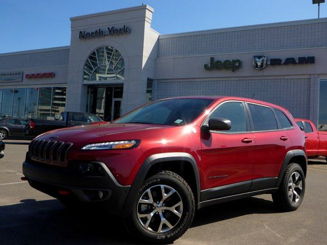 2014 jeep cherokee trailhawk thornhill ontario used car for sale 2167691. Black Bedroom Furniture Sets. Home Design Ideas