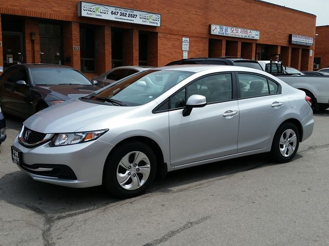 2013 honda civic lx toronto ontario used car for sale. Black Bedroom Furniture Sets. Home Design Ideas