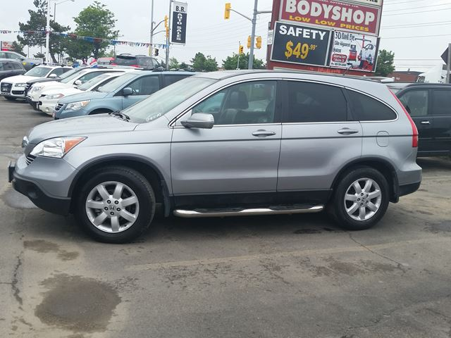 2007 honda cr v ex l awd navigation brampton ontario for Honda crv exl with navigation