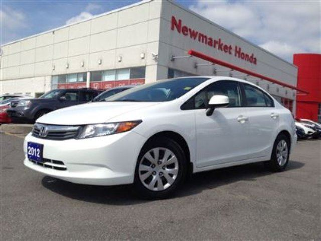 2012 honda civic lx white newmarket honda for 2012 honda civic white