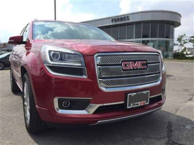 2014 gmc acadia denali in waterloo ontario. Black Bedroom Furniture Sets. Home Design Ideas