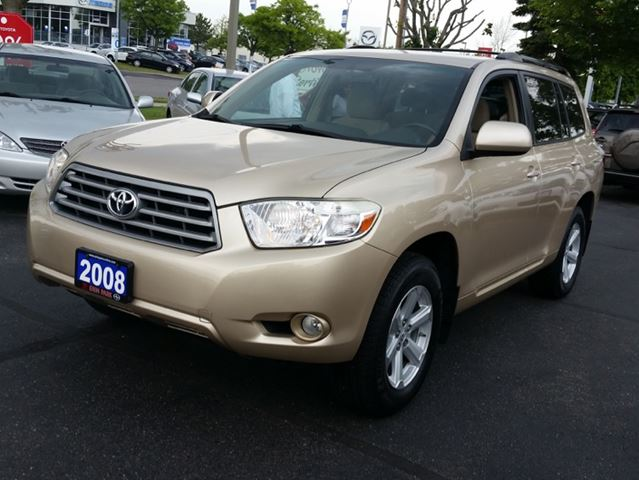2008 toyota highlander sr5 mississauga ontario used car for sale 2171610. Black Bedroom Furniture Sets. Home Design Ideas