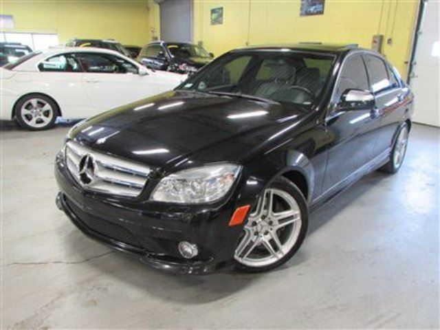 2009 mercedes benz c class 350 4matic navigation. Black Bedroom Furniture Sets. Home Design Ideas