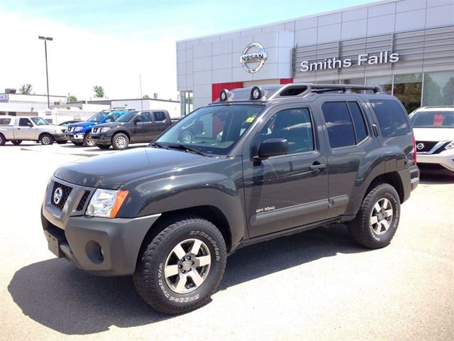 2011 nissan xterra pro 4x smiths falls ontario used car for sale 2172240. Black Bedroom Furniture Sets. Home Design Ideas