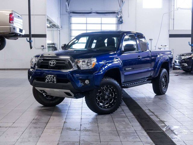 2014 toyota tacoma 4x4 access cab trd off road kelowna british columbia used car for sale. Black Bedroom Furniture Sets. Home Design Ideas