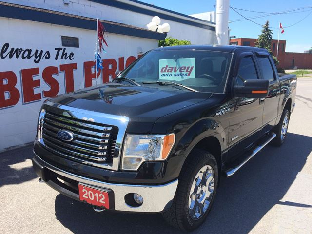 2012 ford f 150 xlt oshawa ontario used car for sale 2173370. Black Bedroom Furniture Sets. Home Design Ideas