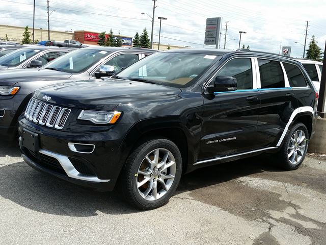 2015 jeep grand cherokee summit 4x4 vaughan ontario new car for sale 2175552. Black Bedroom Furniture Sets. Home Design Ideas