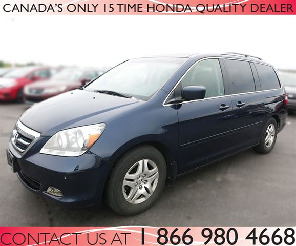 2007 honda odyssey touring hamilton ontario used car. Black Bedroom Furniture Sets. Home Design Ideas