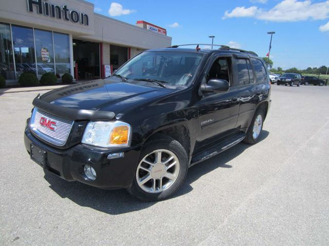 2007 gmc envoy denali sunroof heated leather 4x4 black. Black Bedroom Furniture Sets. Home Design Ideas