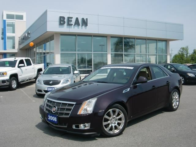 2008 cadillac cts w 1sb carleton place ontario used car. Black Bedroom Furniture Sets. Home Design Ideas