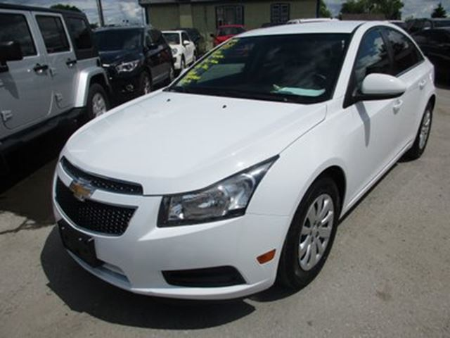 2011 Chevrolet Cruze Great Value Lt Model 5 Passenger Cd