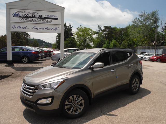 2015 hyundai santa fe se huntsville ontario used car for sale 2177956. Black Bedroom Furniture Sets. Home Design Ideas