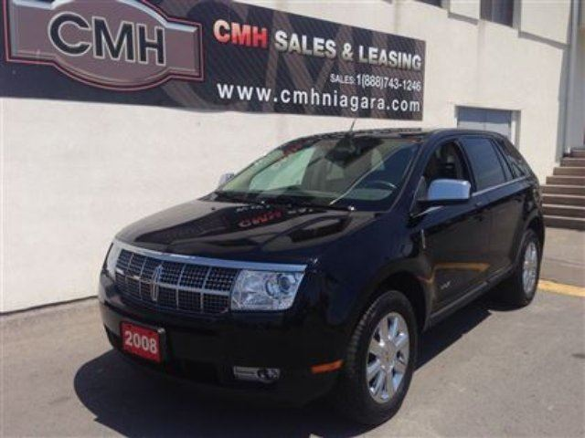 2008 lincoln mkx limited sunroof chromes certified black. Black Bedroom Furniture Sets. Home Design Ideas