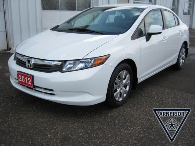 2012 honda civic lx a5 arnprior ontario used car for sale 2182901. Black Bedroom Furniture Sets. Home Design Ideas