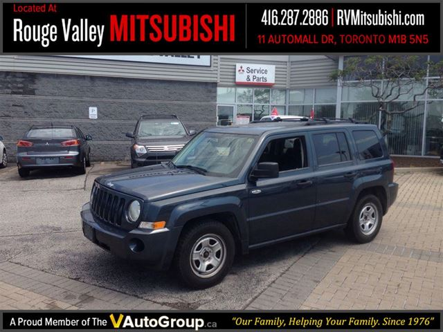 2008 jeep patriot sport blue rouge valley mitsubishi. Black Bedroom Furniture Sets. Home Design Ideas