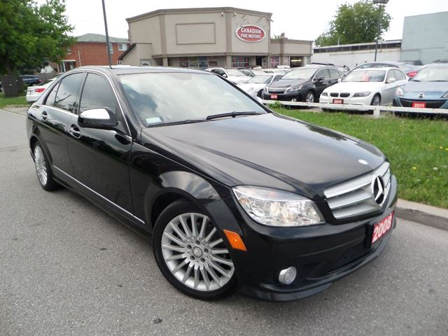2008 mercedes benz c class c230 sport prem pkg roof for Mercedes benz scarborough