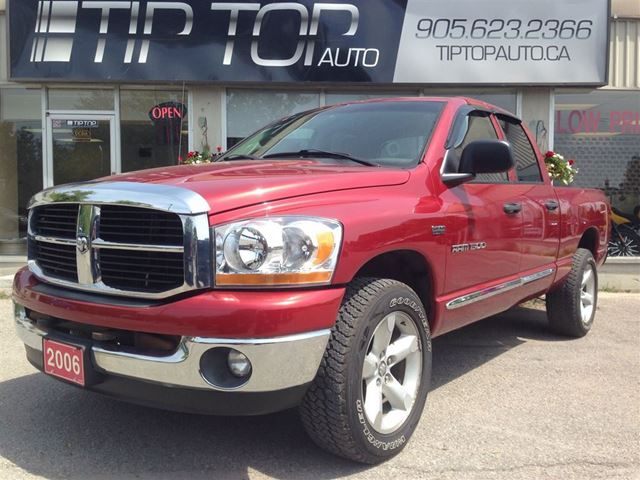 2006 dodge ram 1500 slt quad cab 4x4 hemi great shape in. Black Bedroom Furniture Sets. Home Design Ideas