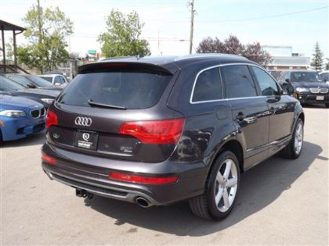 2011 audi q7 3 0 premium plus s line awd navi b cam 3rd row l calgary alberta used car for. Black Bedroom Furniture Sets. Home Design Ideas