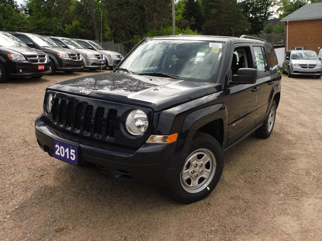 2015 jeep patriot sport in huntsville ontario. Black Bedroom Furniture Sets. Home Design Ideas