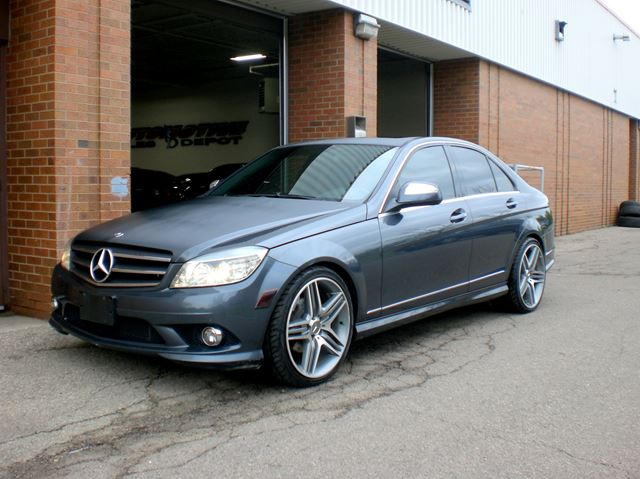 2009 mercedes benz c class c230 4matic amg wheels mississauga ontario used car for sale. Black Bedroom Furniture Sets. Home Design Ideas