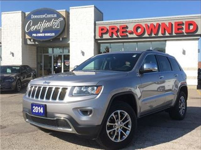 2014 JEEP Grand Cherokee Limited..$209 b/w+hst..$0 down..84m..4.9% in Toronto, Ontario