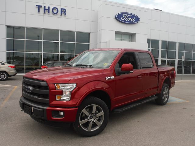2015 ford f 150 lariat orillia ontario new car for sale 2189729. Black Bedroom Furniture Sets. Home Design Ideas