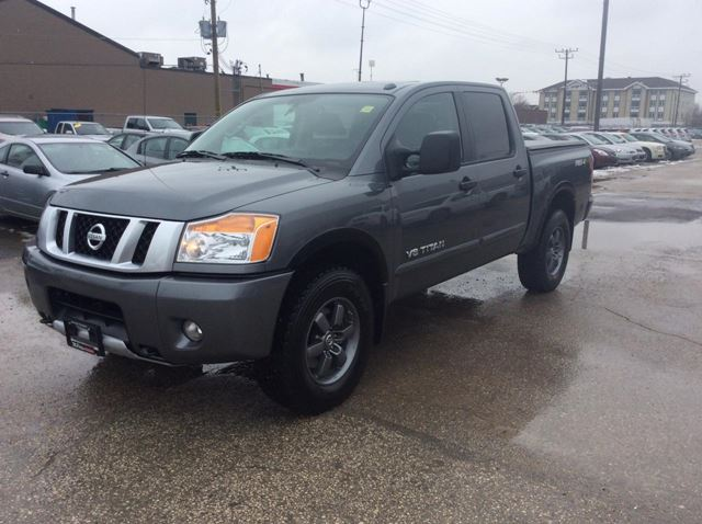 2014 nissan titan pro 4x winnipeg manitoba car for sale 2189452. Black Bedroom Furniture Sets. Home Design Ideas