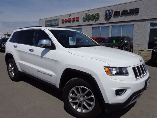 2014 jeep grand cherokee limited high river alberta used car for sale 2192280. Black Bedroom Furniture Sets. Home Design Ideas
