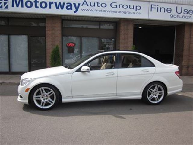 2010 mercedes benz c class c350 4matic amg package one owner white motorway auto group. Black Bedroom Furniture Sets. Home Design Ideas