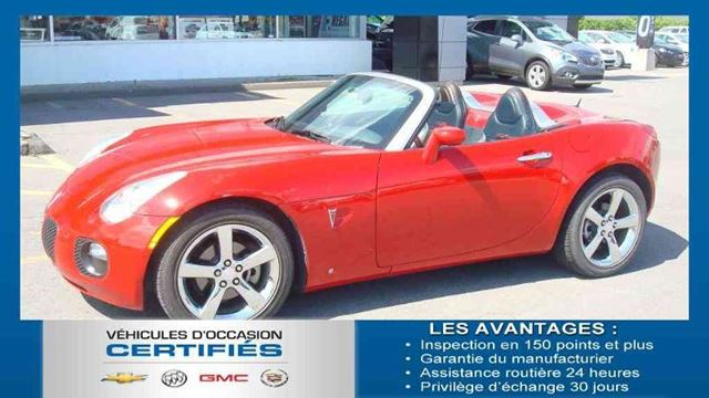 2008 pontiac solstice gxp salaberry de valleyfield. Black Bedroom Furniture Sets. Home Design Ideas