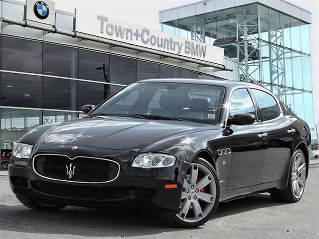 2007 maserati quattroporte black town and country bmw. Black Bedroom Furniture Sets. Home Design Ideas