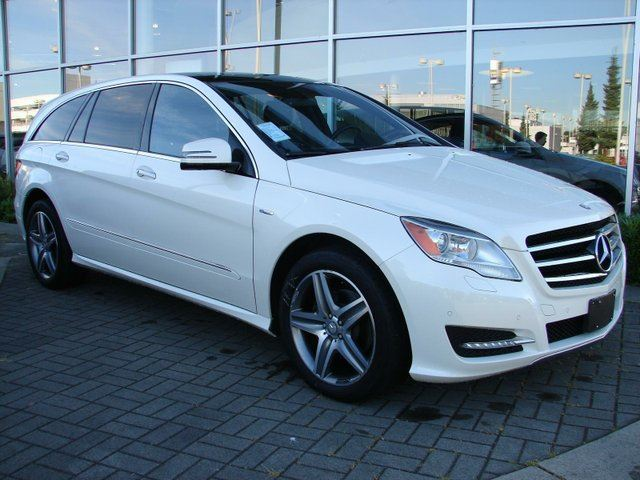2012 Mercedes-Benz R-Class Base White | NORTH SHORE ACURA | Wheels.ca