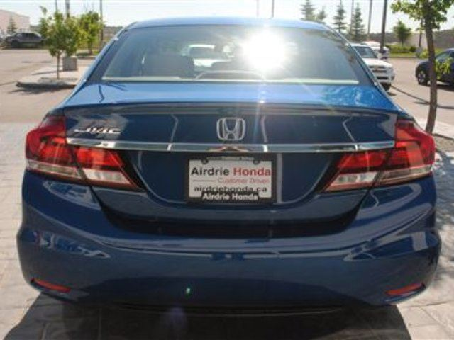 Airdrie Used Cars: 2013 Honda Civic LX (A5) *Local Car, No Accidents, Remote