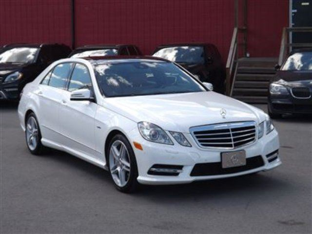 2012 mercedes benz e class e550 4matic amg sport pkg navi for 2012 mercedes benz e350 4matic
