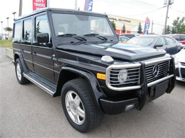 2002 mercedes benz g class g500 navigation leather roof for Used mercedes benz g500