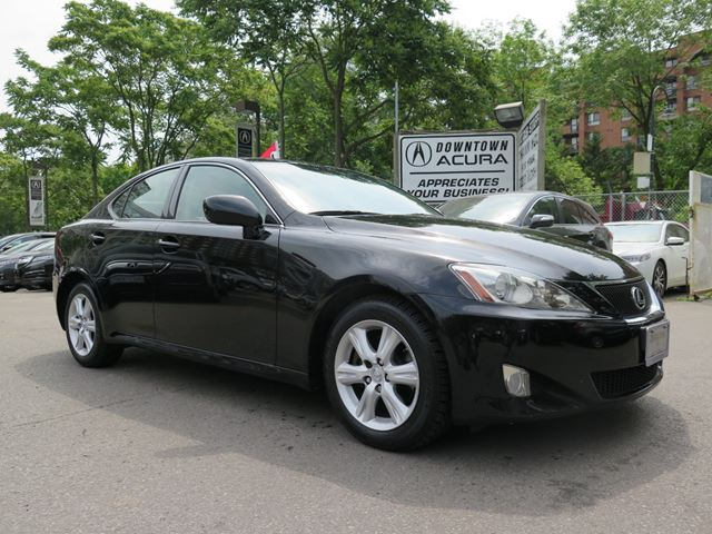 2007 lexus is 250 rwd 6a black downtown acura. Black Bedroom Furniture Sets. Home Design Ideas