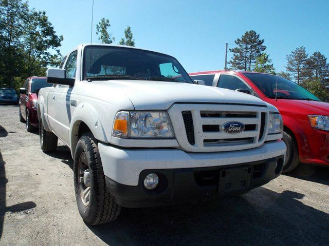 2011 ford ranger sport 4dr 4x4 super cab styleside 6 ft box 125 7 in wb white armstrong. Black Bedroom Furniture Sets. Home Design Ideas
