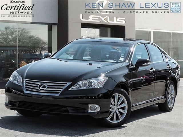 2011 lexus es 350 touring edition with 23035 km black. Black Bedroom Furniture Sets. Home Design Ideas
