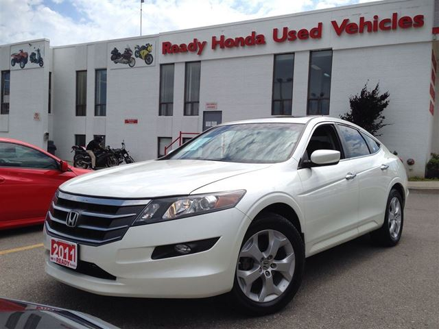 2011 Honda Accord Crosstour Ex L W Navi Leather Roof R Cam