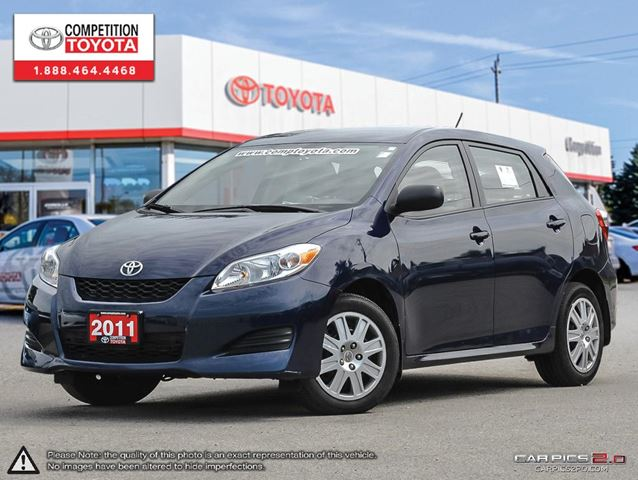 2011 Toyota Matrix Base Competition Certfied One Owner Toyota Serviced In London Ontario
