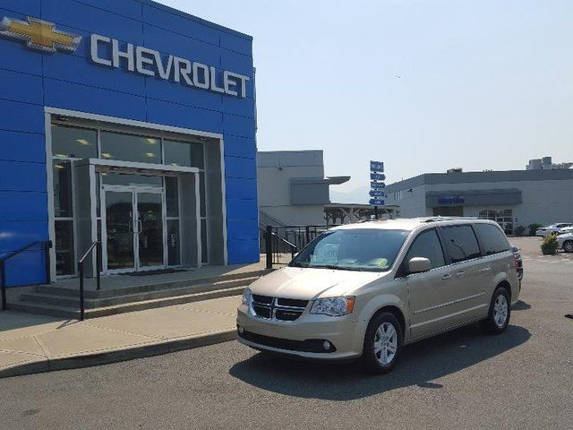 2013 DODGE GRAND CARAVAN Crew in Chilliwack, British Columbia