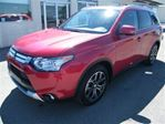 2015 Mitsubishi Outlander GT LEATHER/ROOF/B.CAM/7 PASS in Calgary, Alberta