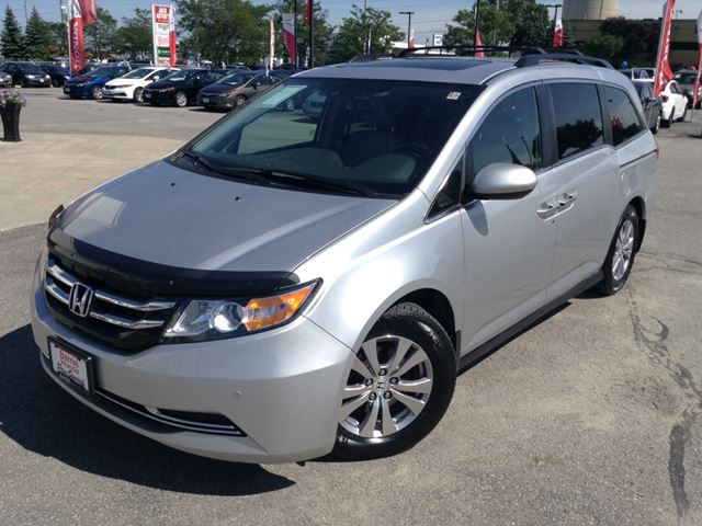2014 honda odyssey ex l barrie ontario used car for sale 2199108. Black Bedroom Furniture Sets. Home Design Ideas
